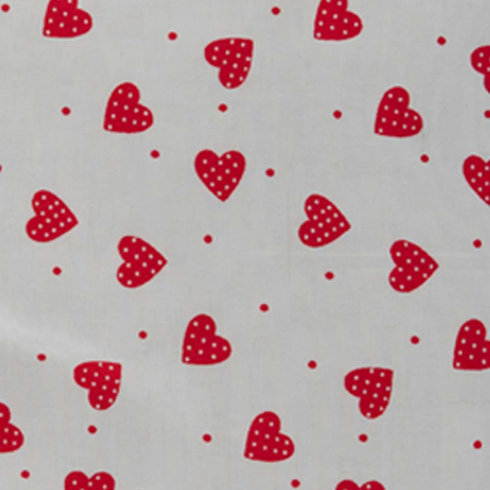 Cute Red Heart Design Cushion from Handmade Gift Company