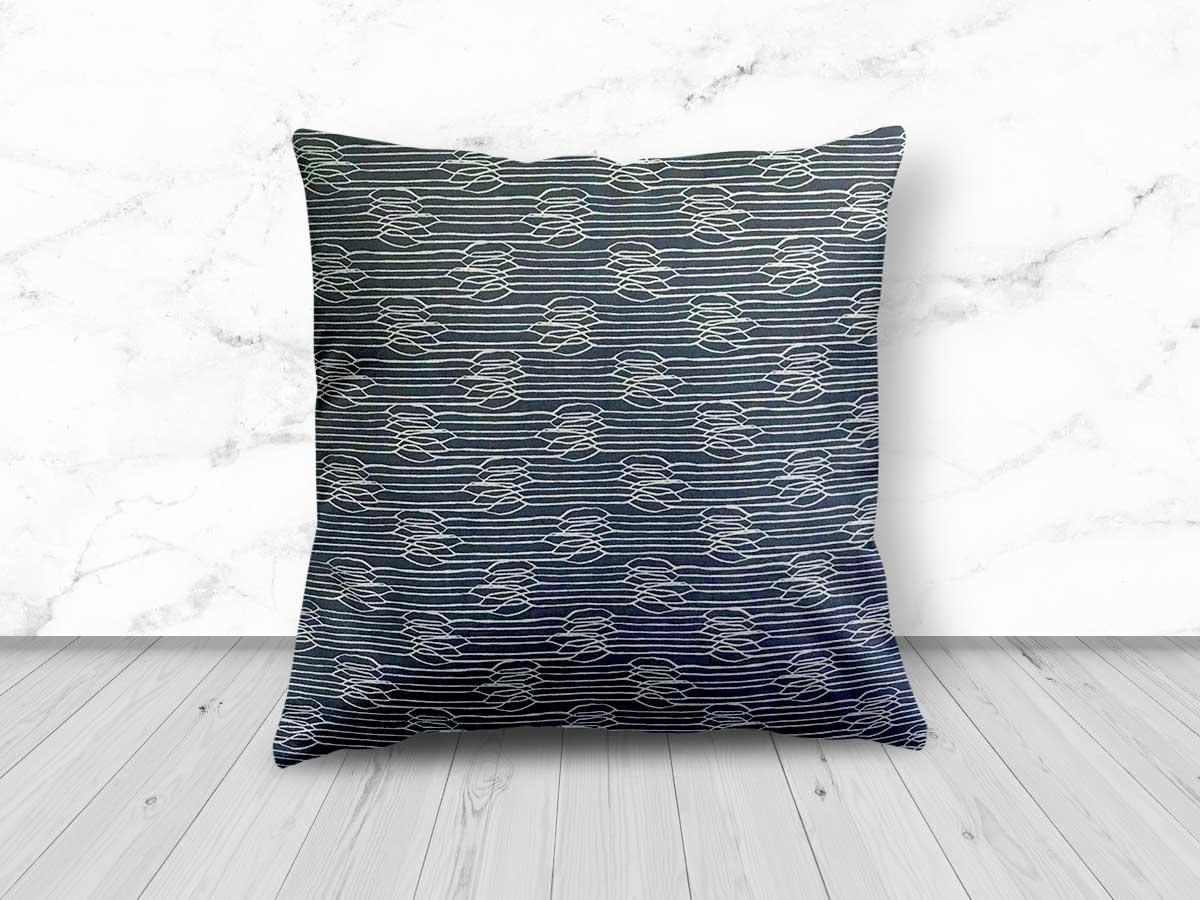 Abstract Grey Design Cushion