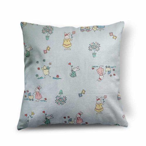 Baby Rabbit Design Cushion