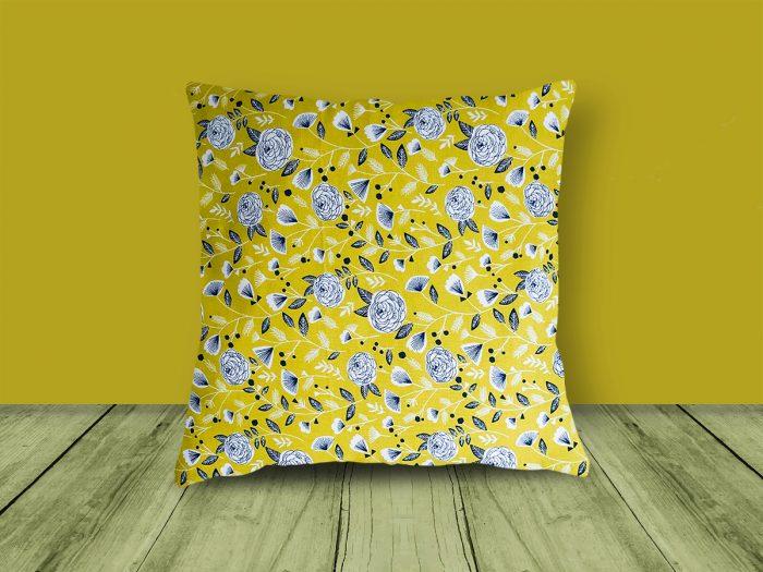 Leaf Design Cushion from Handmade Gift Company