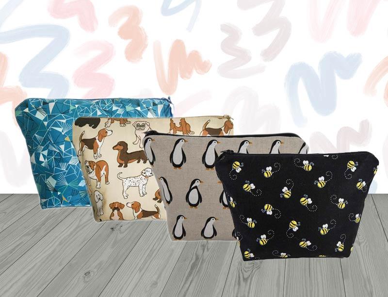 Cosmetic Bags-Handmade Gift Company