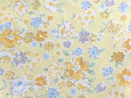 Handmade Gift Company Dog Bandana-Medium-Orange/Yellow Floral Design-BDN16