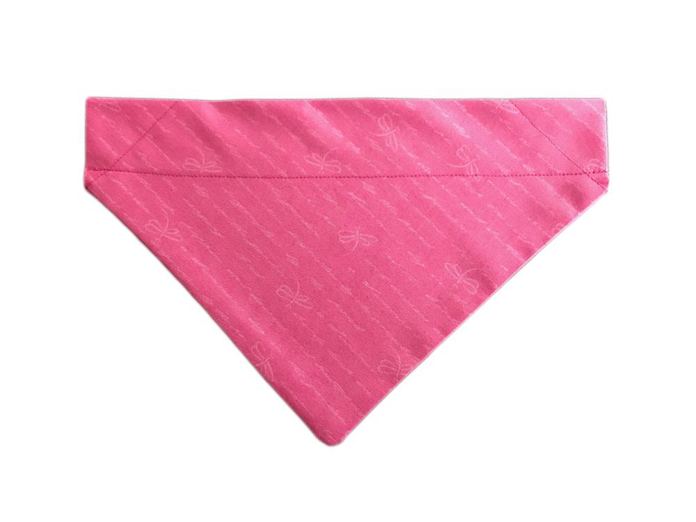Handmade Gift Company Dog Bandana-Small/Medium-Pink Ribbon Design-BDN15