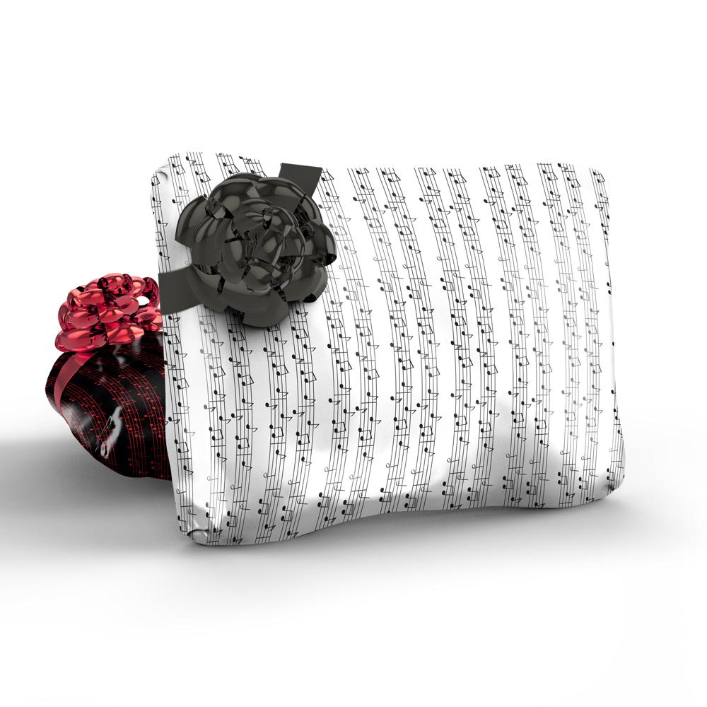 Music Sheet Gift Wrap-Handmade Gift Company