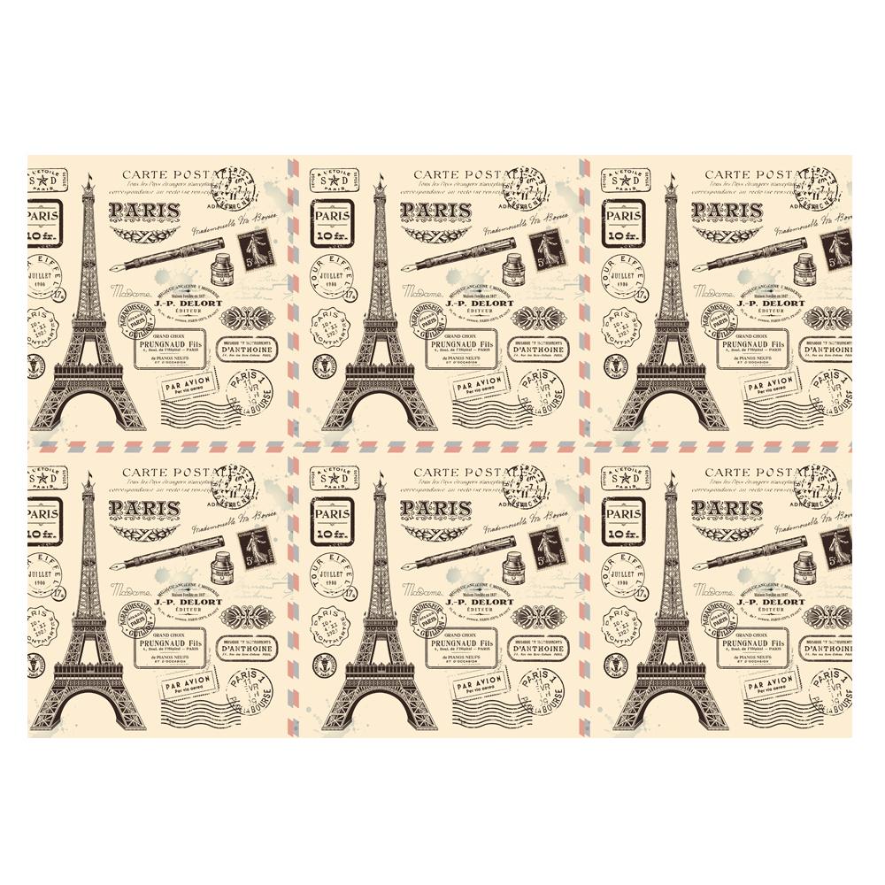 Paris Gift Wrap-Handmade Gift Company