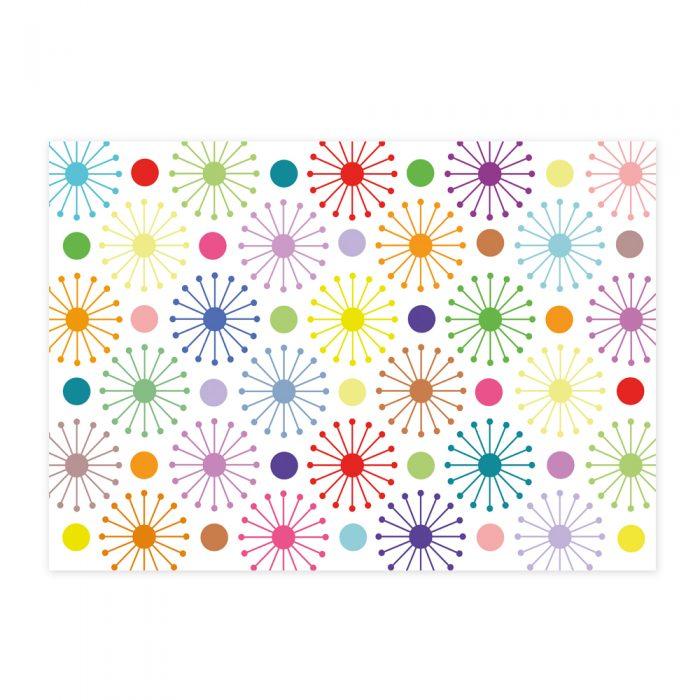 Geometric Design Gift Wrap-Handmade Gift Company