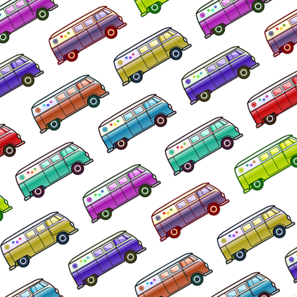 Handmade Gift Company Camper Van Gift Wrapping Paper