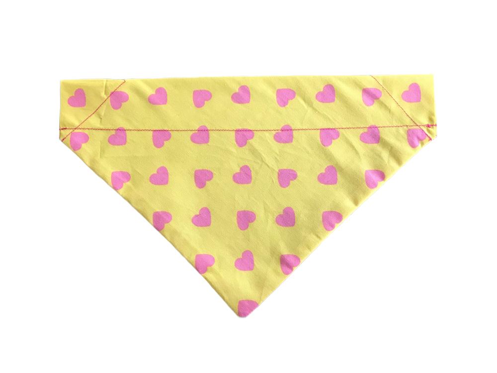 Pink Heart & Yellow Design-BDN22