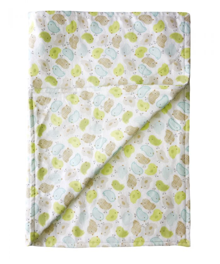 Handmade Gift Company Little Chicks Baby Blanket