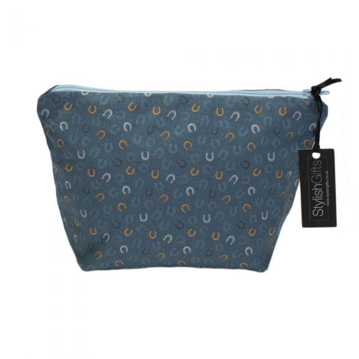 Lucky Horseshoe Cosmetic Bag