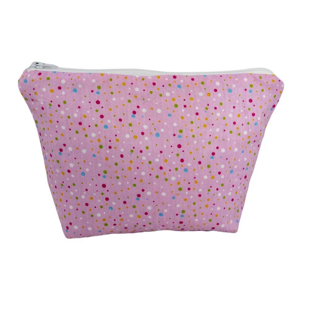Pink Dots Cosmetic Bag-UCB75