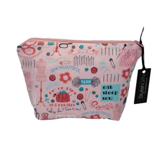 Sewing Design Cosmetic Bag