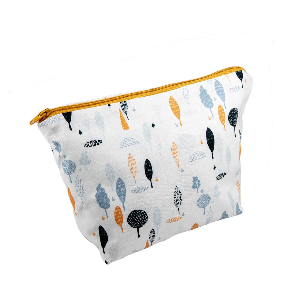 Tree Design Cosmetic Bag