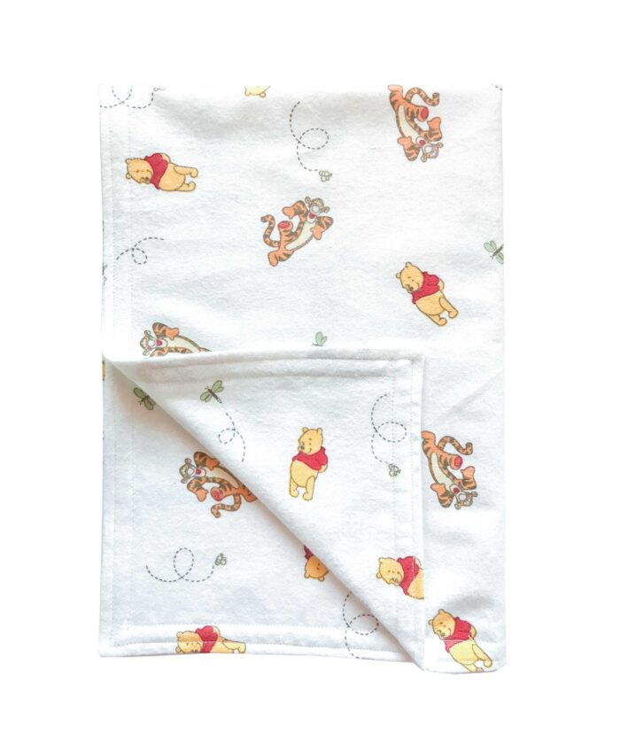 Winnie the Pooh and Tigger Baby Blanket
