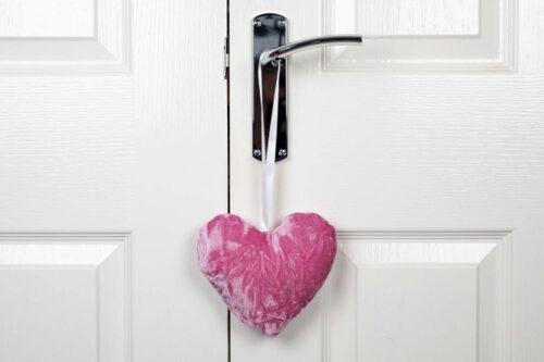 Valentine Heart Decoration-Pink