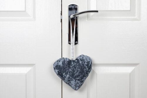 Valentine Heart Decoration-Silver