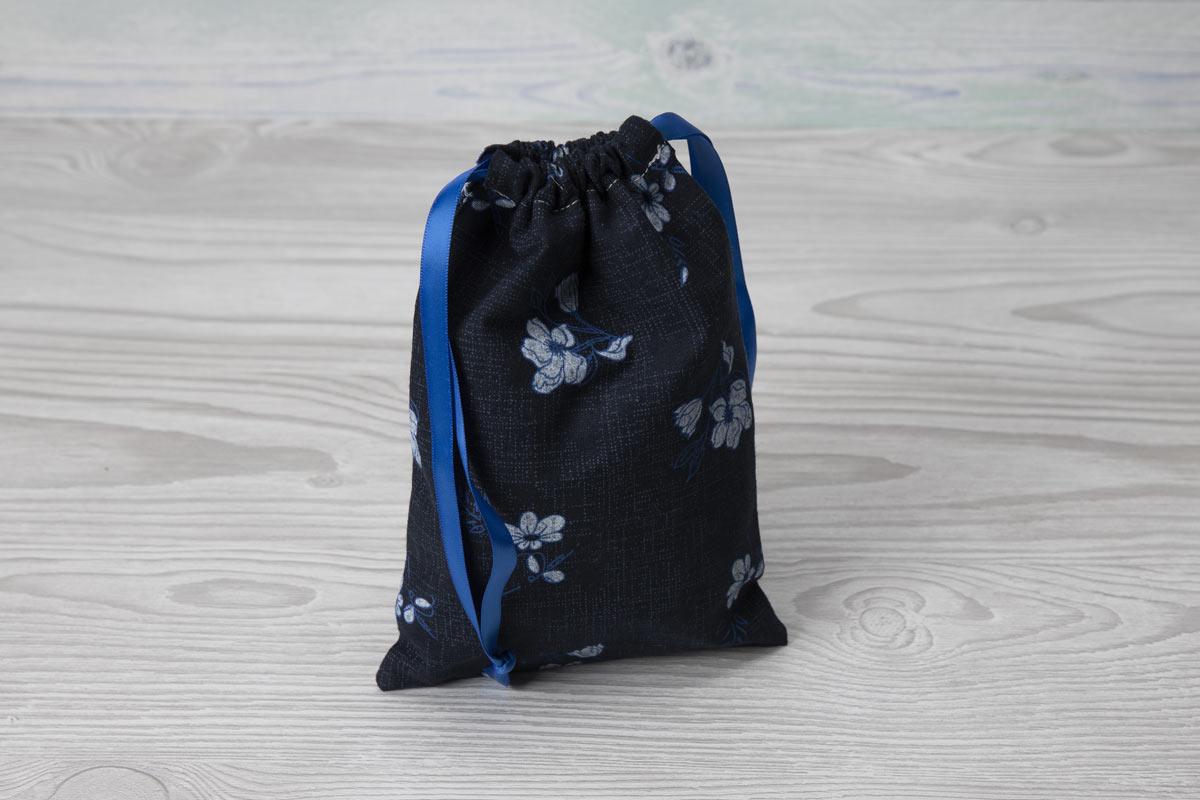 Eco-friendly Face Pads-Blue Floral