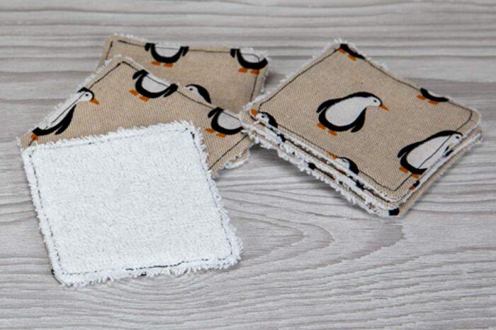 Eco-friendly Face Pads-Penguins