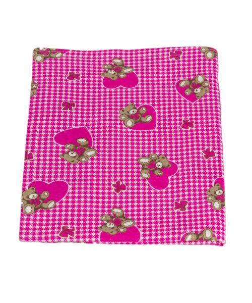 Pink Teddy Bear Blanket
