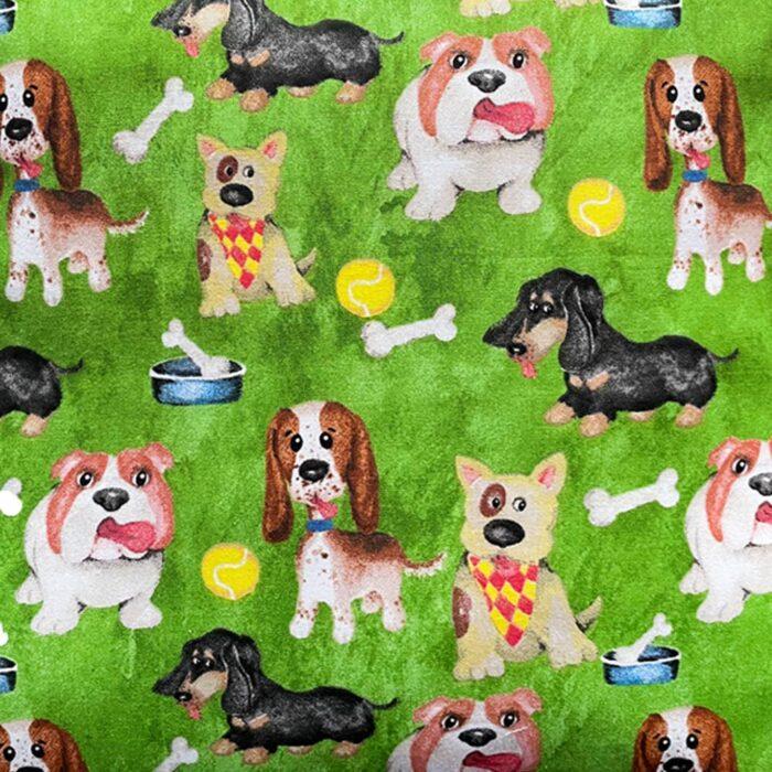 Dog Cushion-Green