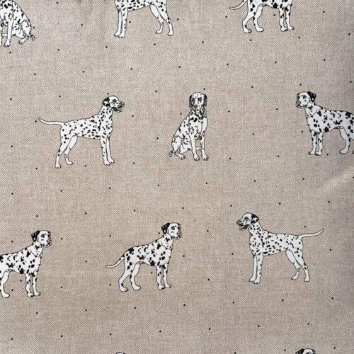 Dalmatian Linen Cushion