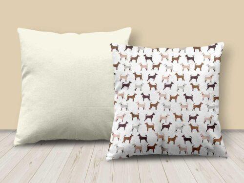 Dog Design Cushion