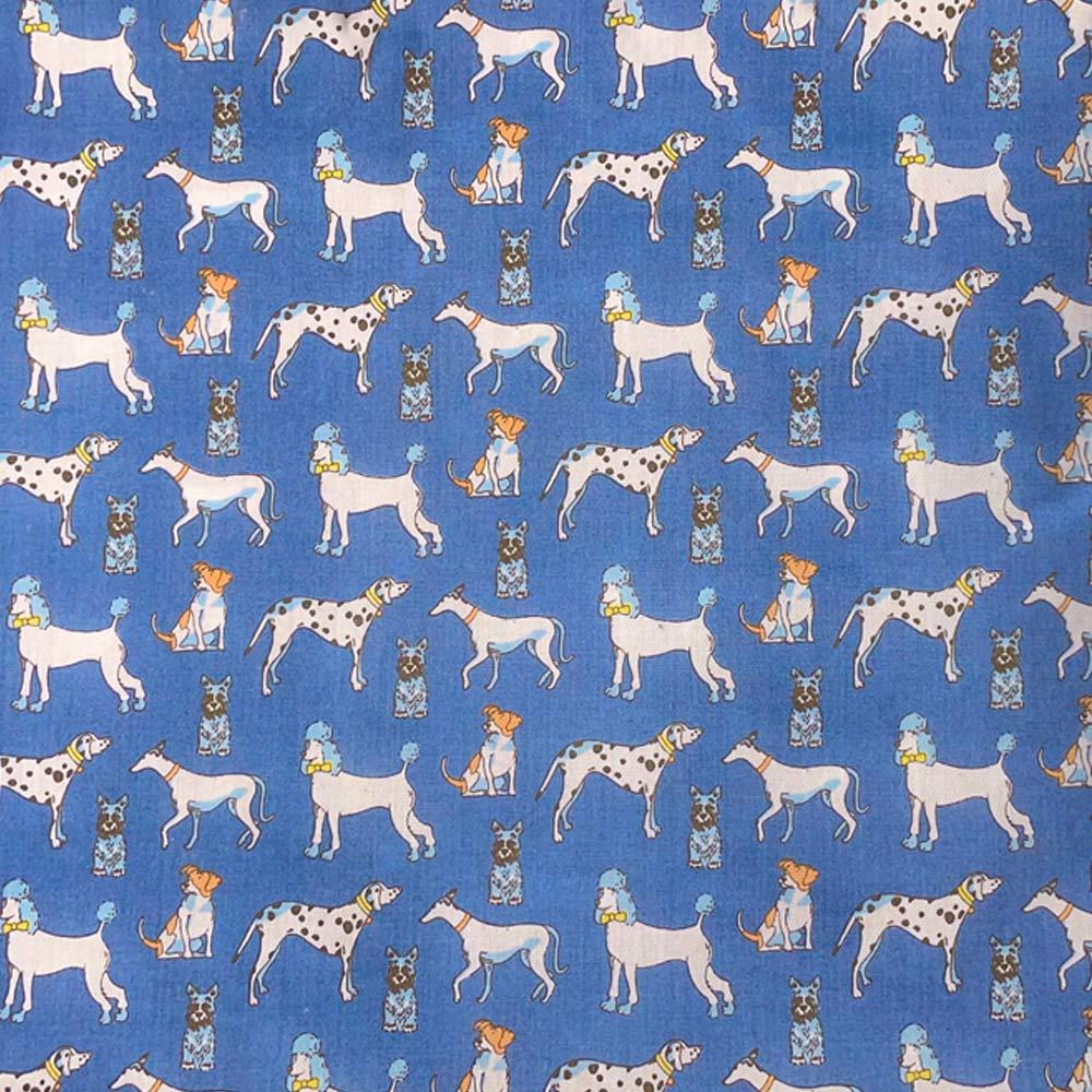 Dog Cushion-Blue