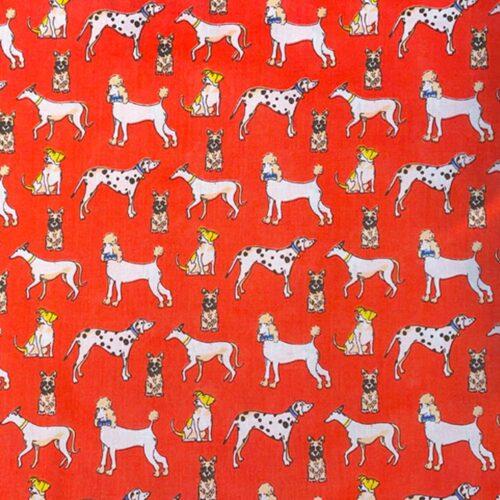 Dog Cushion-Red