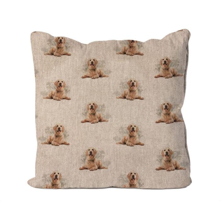 Golden Labrador Cushion