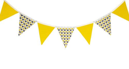 Grey/Yellow Bees Design Bunting