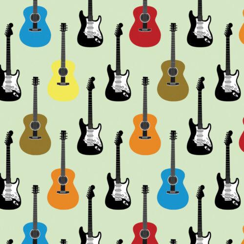 Guitar Design Cushion