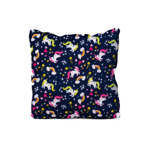 Mini Unicorn Cushion Blue