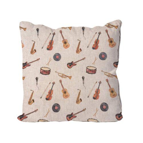 Music Instruments Cushions