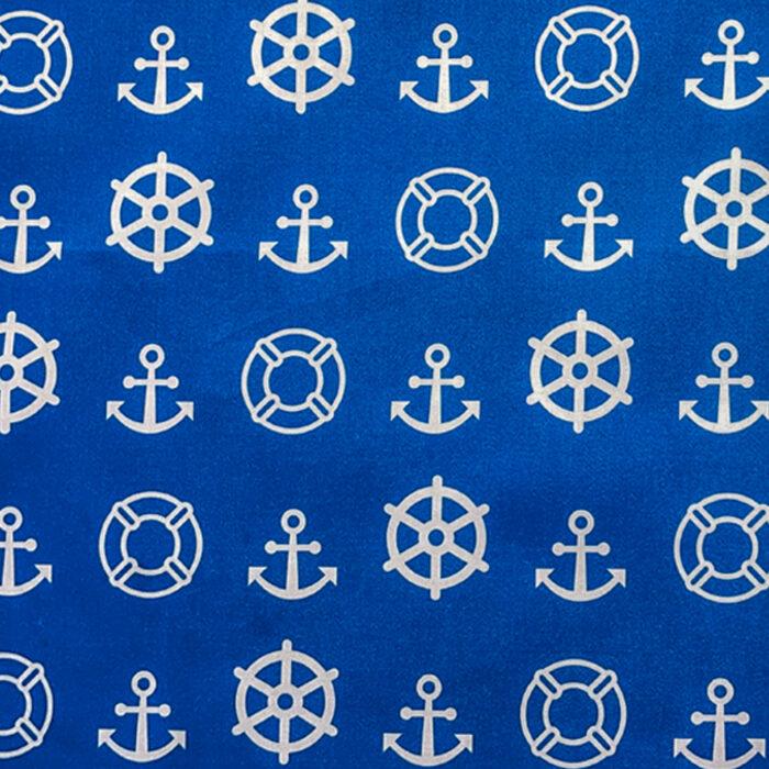 Nautical Cushion-Blue