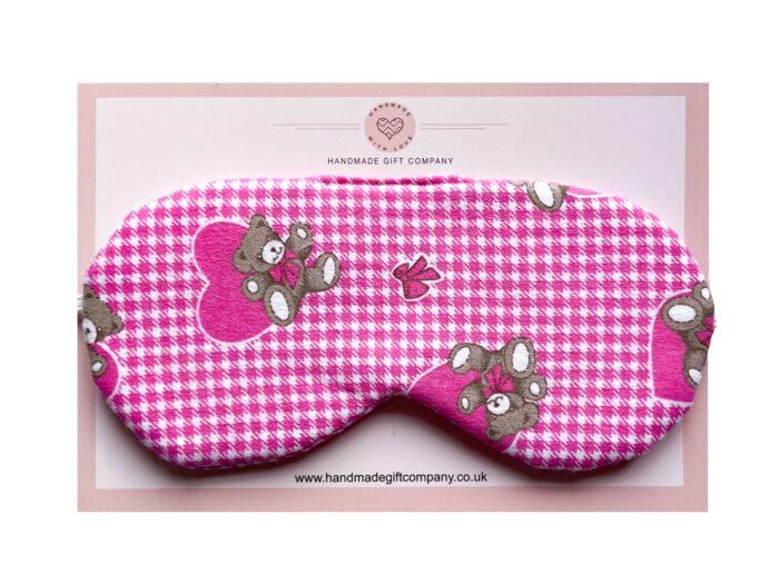 Sleep/Eye MaskTeddy Bears-Pink
