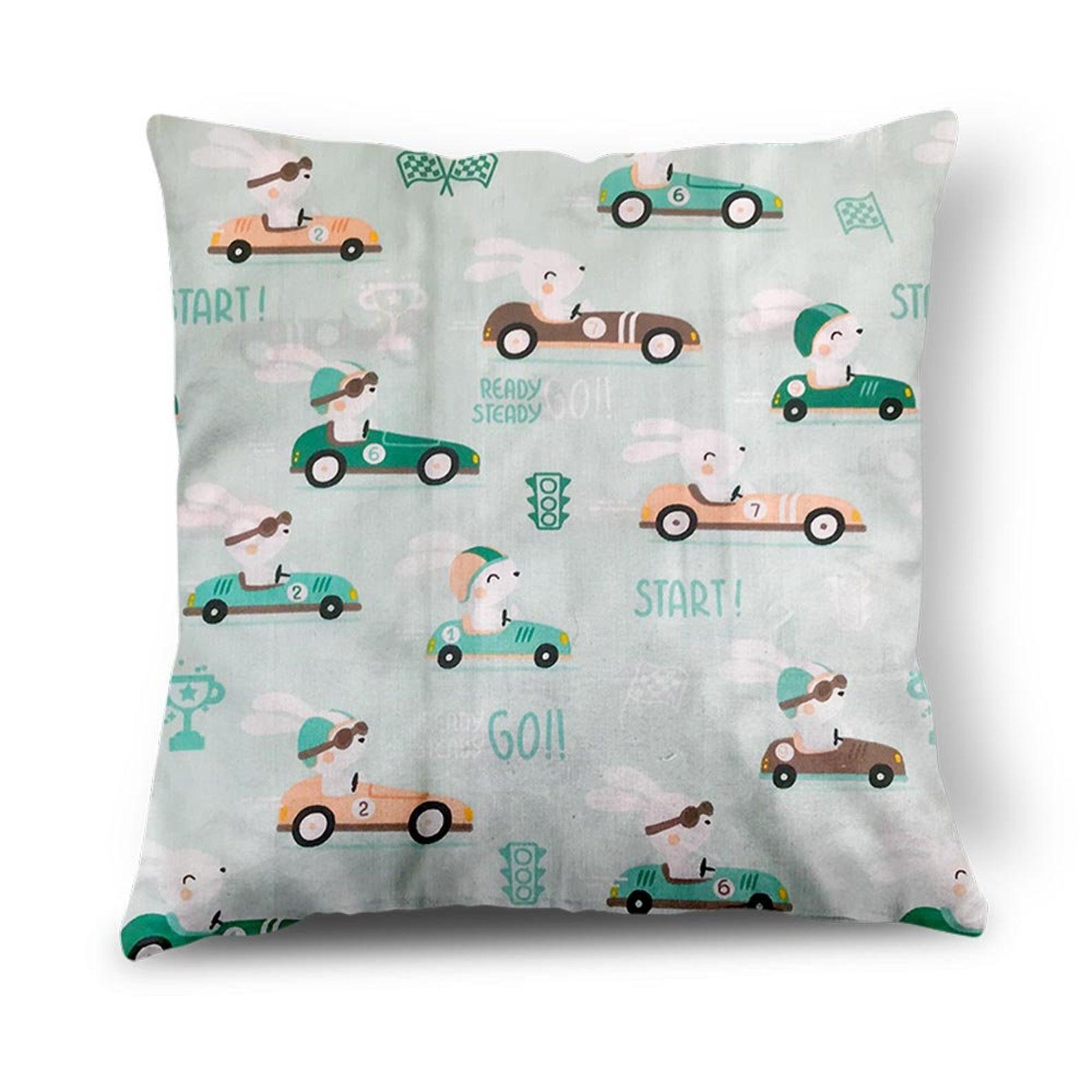 Racing Car Design Cushion
