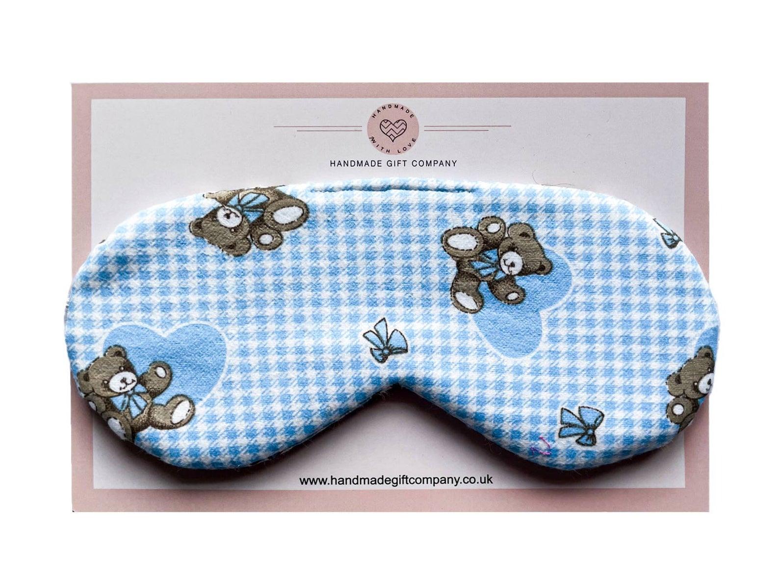 Sleep/Eye MaskTeddy Bears-Blue
