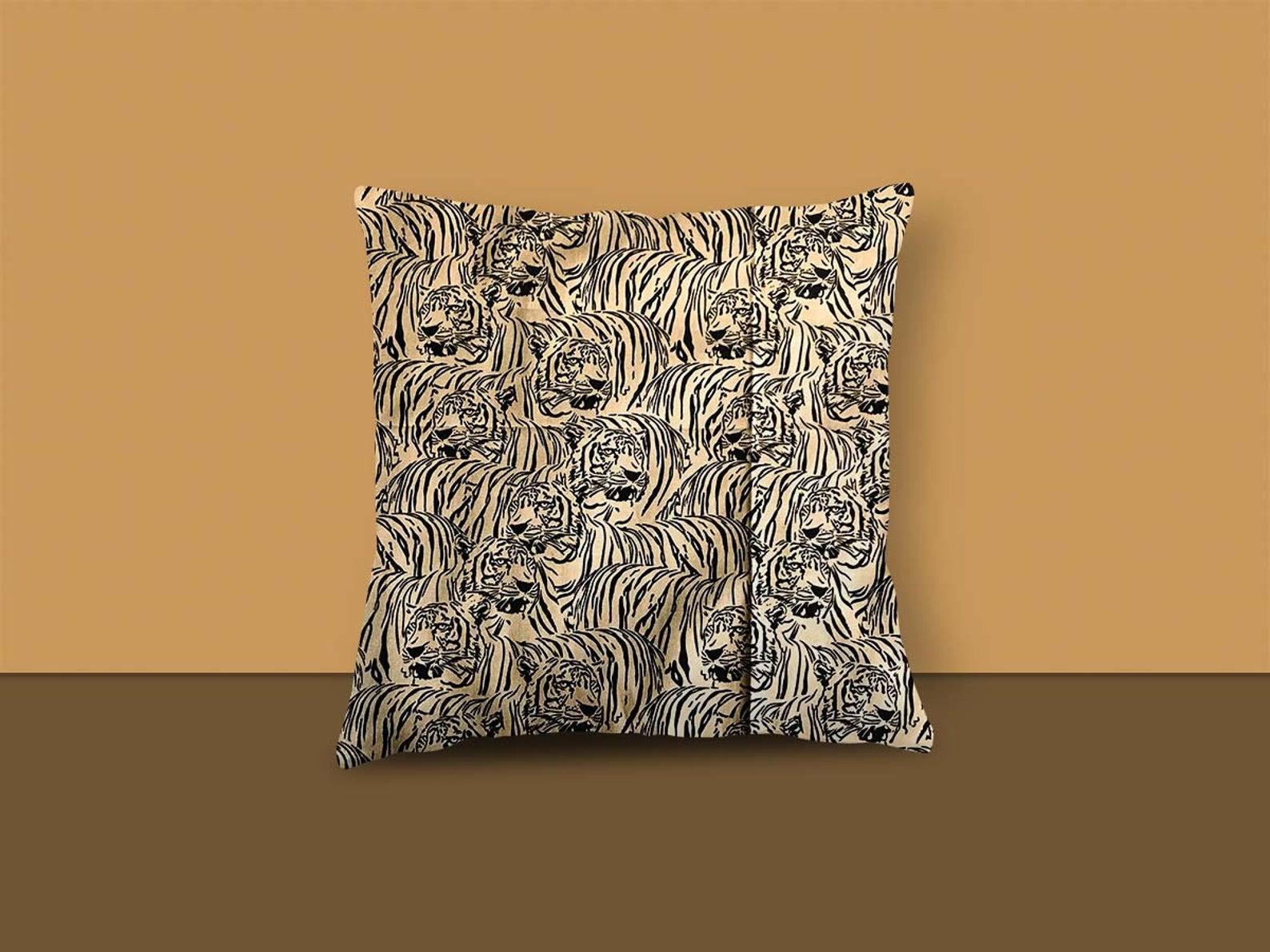 Tiger Design Cushion