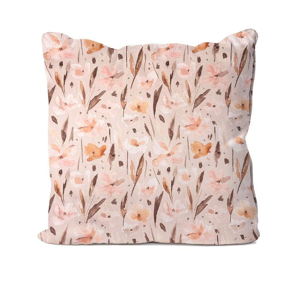 Woodland Floral Design Cushion
