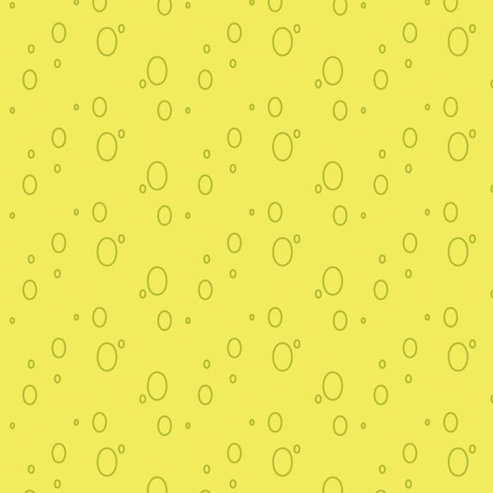 Bubbles Gift Wrap Yellow