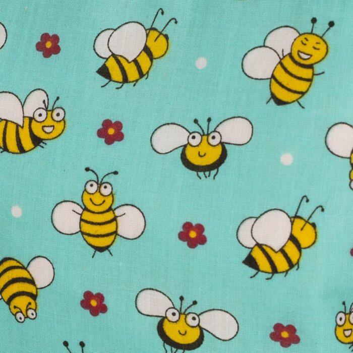 Bees design cosmetic bag