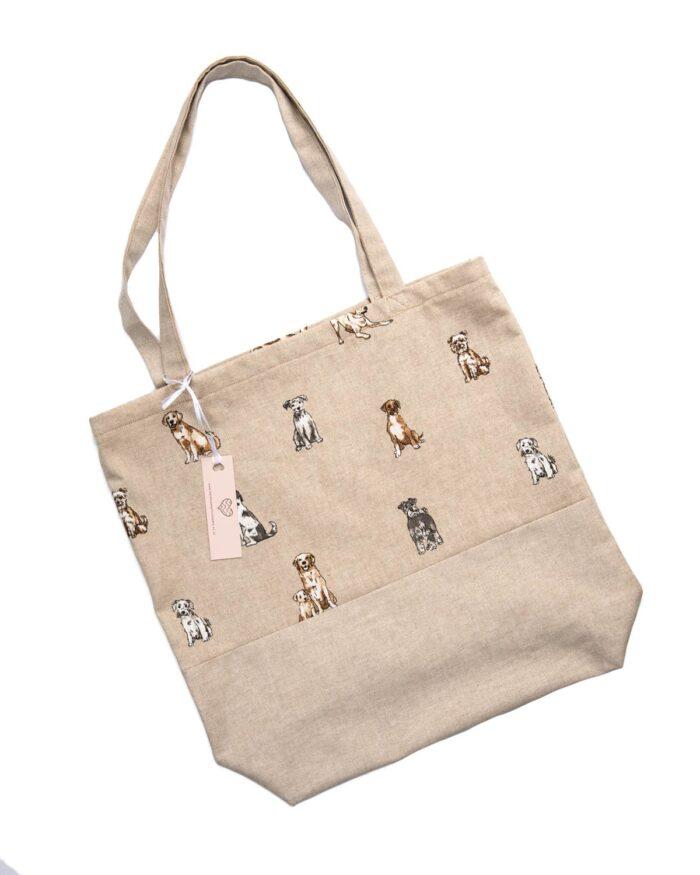 Tote Bag-Dogs Design