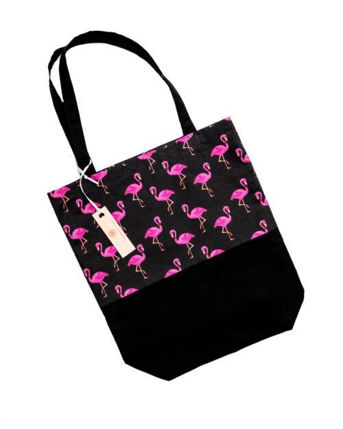 Tote Bag-Flamingo Design