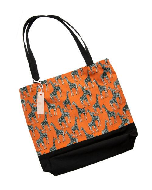 Tote Bag-Giraffe Design