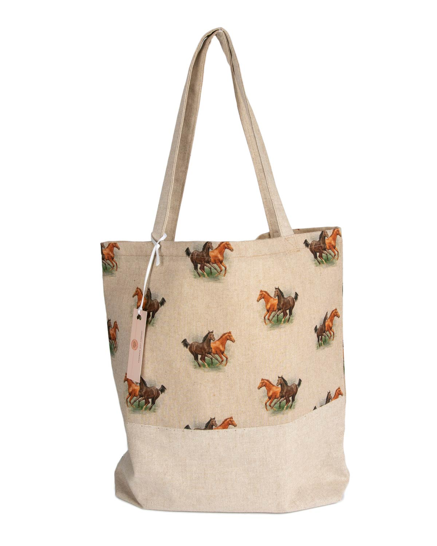 Tote Bag-Horse Design