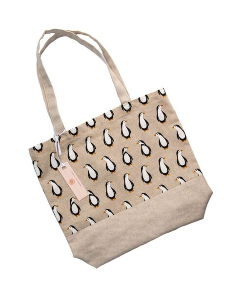 Tote Bag-Penguin Design