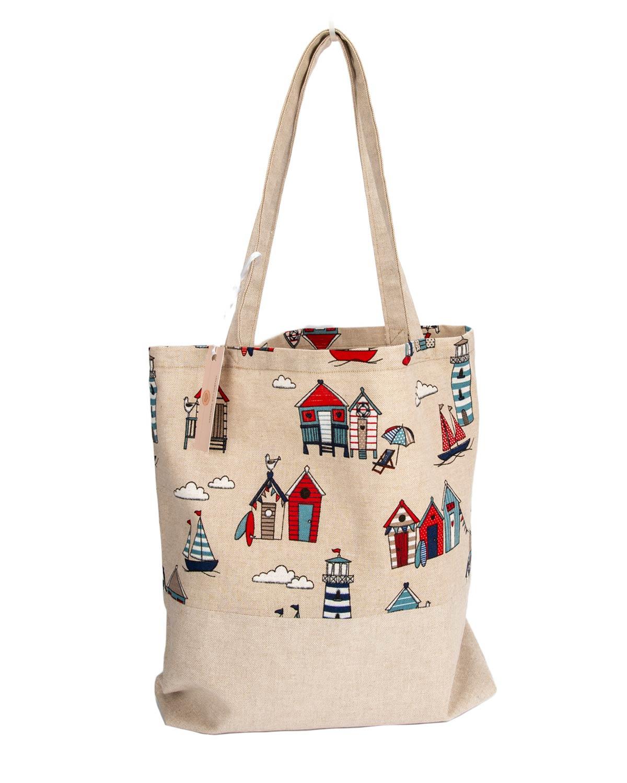 Tote Bag-Seaside Design