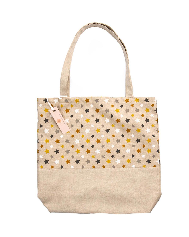 Tote Bag-Stars Design