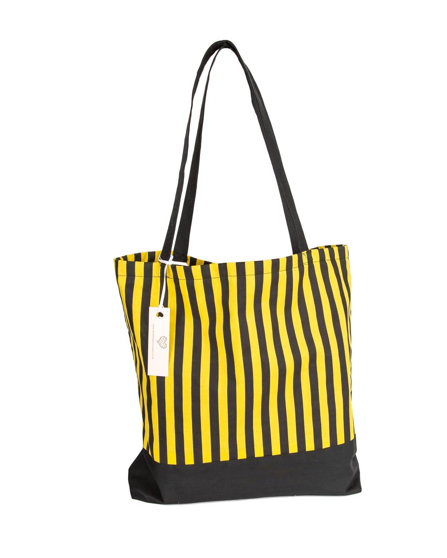 Tote Bag-Striped Design