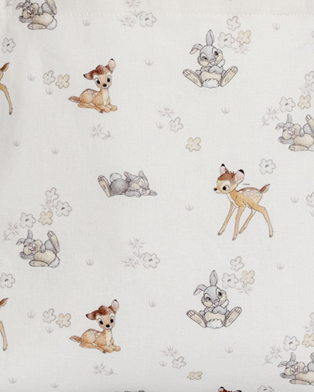 Bambi & Thumper White Tote Bag-Childrens